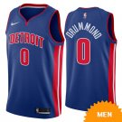 Men's Detroit Pistons Andre Drummond Icon Edition Jersey - Blue