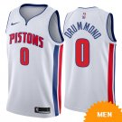 Men's Detroit Pistons Andre Drummond Association Edition Jersey - White