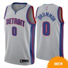 Men's Detroit Pistons Andre Drummond Statement Edition Jersey - Gray