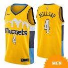Men's Denver Nuggets Paul Millsap Statement Edition Jersey - Gold