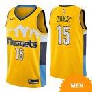 Men's Denver Nuggets Nikola Jokic Statement Edition Jersey - Gold