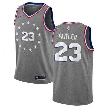 low priced a25d5 5a656 Men's Philadelphia 76ers Jimmy Butler 2018/19 City Edition ...