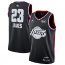 Men's Los Angeles Lakers LeBron James 2019 NBA All-Star Black Game Jersey