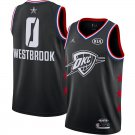 Men's Oklahoma City Thunder Russell Westbrook 2019 NBA All-Star Black Game Jersey