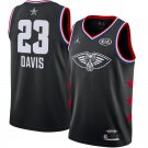 Men's New Orleans Pelicans Anthony Davis 2019 NBA All-Star Black Game Jersey