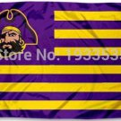 East Carolina Pirates Stars and Stripes Nation Flag 3x5 ft