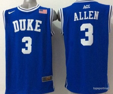 size 40 00a64 ea352 Duke Blue Devils 3 Grayson Allen basketball Jerseys color blue