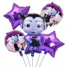 5 Pcs Vampirina Foil Balloon Vampirina Latex Balloon Party Supplies