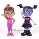 2pcs/set 8cm unior Vampirina The Vamp PVC Action Figures Toys