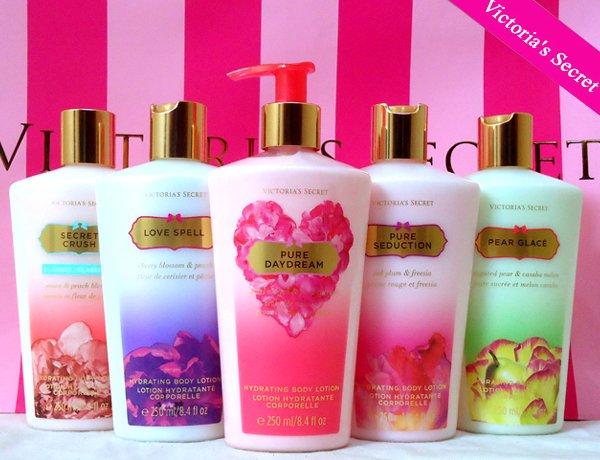 Victoria Secret body lotion 5 bottles