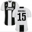 Soccer jerseys BARZAGLI#15. First new shirt BARZAGLI Juventus 2018-2019.