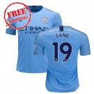 SANÉ#19 Manchester City 2018/2019. Jerseys for men, soccer jerseys