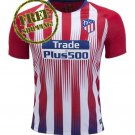 Custom Atletico Madrid Jersey 2018 2019 Football Home Soccer Men Shirt Red