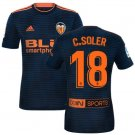 New second shirt of VALENCIA C.SOLER#18 2018/2019 Soccer Jersey