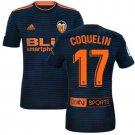 Soccer jersey for men Blue shirt COQUELIN#17 Valencia 2018/2019