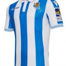 New first jersey of  Real society 2019 White and blue shirt  Shirt of soccer