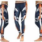 Denver Broncos Leggings 2017 High Waist NFL Football Team Yoga Gym Sports