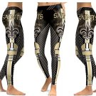 NFL Football Leggings 2017 New Orleans Saints High Waist Yoga Gym Sports