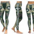 Leggings NFL Football 2017 New York Jets Team Yoga Gym Sports