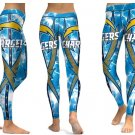 Leggings Sports Los Angeles Chargers Yoga Gym  2017 NFL Football Team