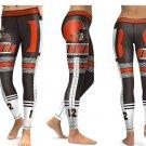 Leggings Sports NFL Cleveland Browns Yoga Gym 2017 Football Team