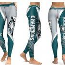 Leggings Women Sports NFL Philadelphia Eagles Yoga Gym 2017 Football Team