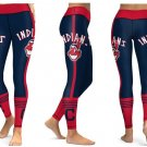 Leggings Cleveland Indians Women Sports MLB Baseball Team Yoga Gym 2017