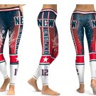 Leggings NFL New England Patriots Football Team Women Sports Yoga Gym 2017