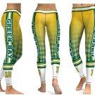 New Leggings NFL Green Bay Packers Football Team 2017 Women Sports Yoga Gym