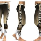 Leggings NFL New Orleans Saints Football Team 2017 Women Sports Yoga Gym