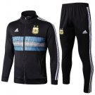 2018 World Cup Argentina Black (jackets and pants) kits replica training