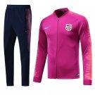 Fc Barcelona Pink jackets and pants 2019 football kits replica FCB training