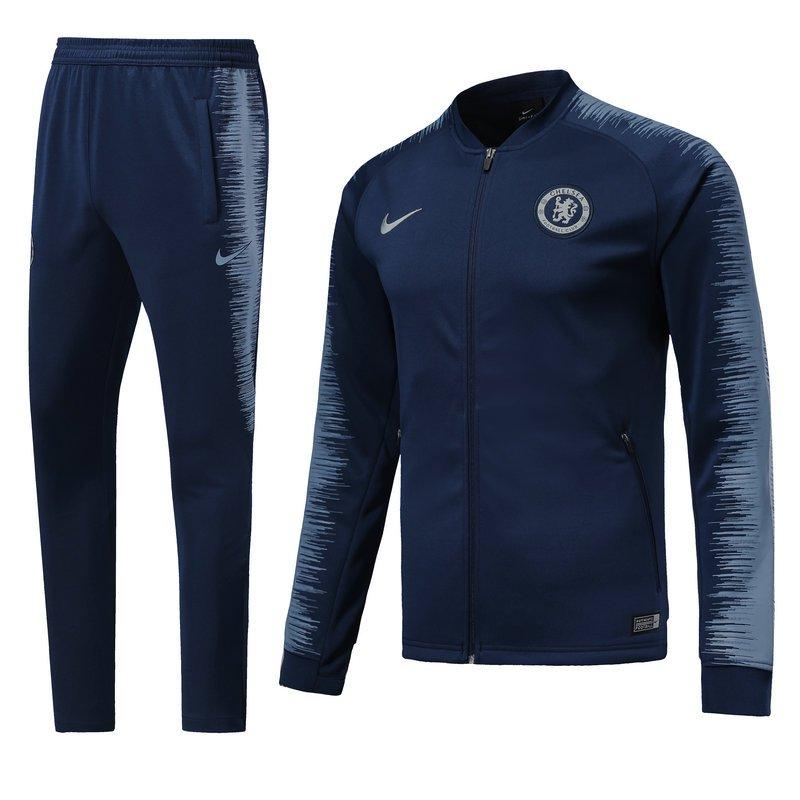 Fc Chelsea Blue jackets and pants 2019 football kits replica training