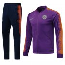Fc Chelsea Purple jackets and pants 2019 Men football kits replica training
