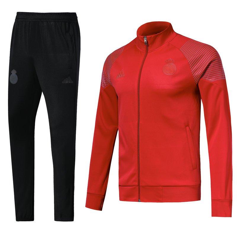 Real Madrid jackets and pants Red & Black 2019 football kits replica training