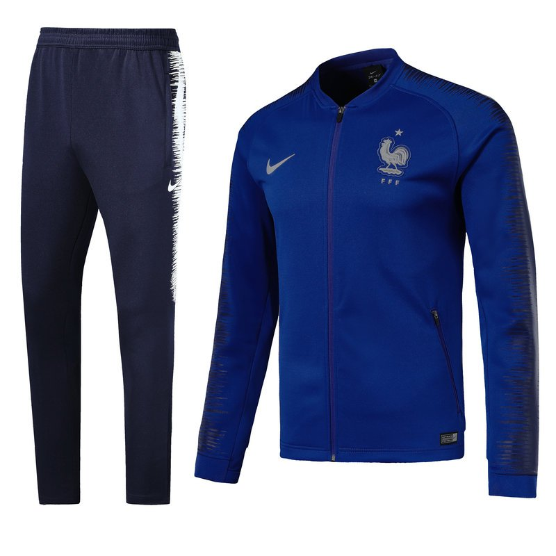 France World Cup 2018 Blue (jackets and pants) kits replica training