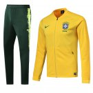 Brazil Home World Cup 2018 Yellow (jackets and pants) kits Away replica training
