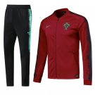Portugal Home World Cup 2018 Red (jackets and pants) kits replica training