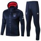 Ajax de Ámsterdam 18-19 Hoodies Pant kits Soccer Team replica training Shirt Blue