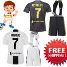 Cr7  RONALDO Kids Young Juventus 2018-2019 Soccer Jerseys