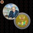 WR Birthday Souvenirs The Russian President Vladimir Putin Gift Coin Saint Peter