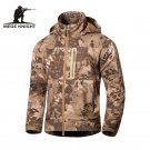 MEGE Brand Clothing Men Military Jacket Windbreaker, Tactical Camouflage Army Au