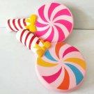 Kawaii Jumbo Colorful Lollipop Candy Squishy Soft Squeeze Slow Rising Ice Cream