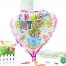 P1068 10pcs 18inch/45cm heart birthday party foil balloons child birthday ball d