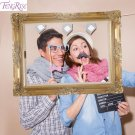 FENGRISE Paper Photo Frame Booth Props Wedding Favors Birthday Decoration Family