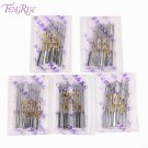 FENGRISE 100pcs Mix Packing Sewing Machine Needles Stainless Steel Household App
