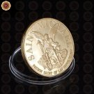 High Quality Gold Plated Coin Los Angeles Police Department TO Protect And To Se