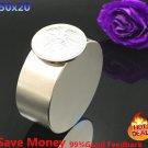 2pcs N35 Neodymium magnet 50x20 mm galliumm etal super strong magnets 50*20 roun