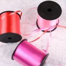Solid color ribbon Balloon accessories silk satin ribbon wedding decoration birt