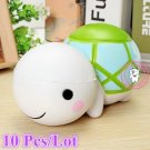 10Pcs Jumbo Kawaii Cute Animal Turtle Squishy Tortoise Phone Straps Soft Slow Ri